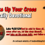 Take Up Your Cross August 2nd 2015